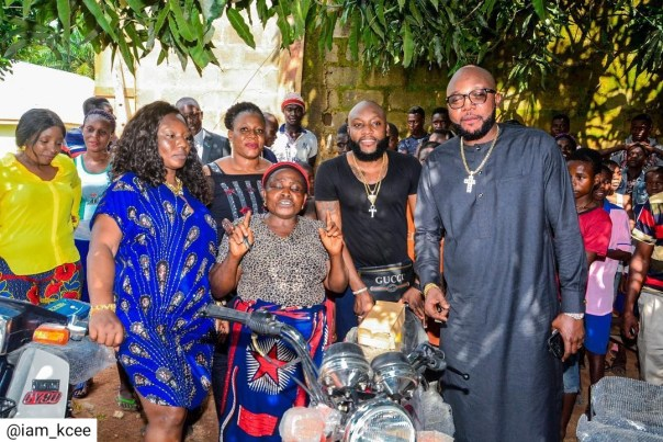 Kcee And E-money Give Out Car And Motorcycles (9)