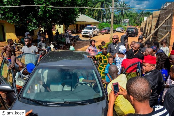 Kcee And E-money Give Out Car And Motorcycles (8)