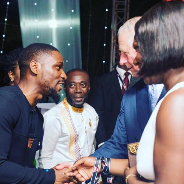Tobi Bakre Meets Prince Charles In Ghana (3)