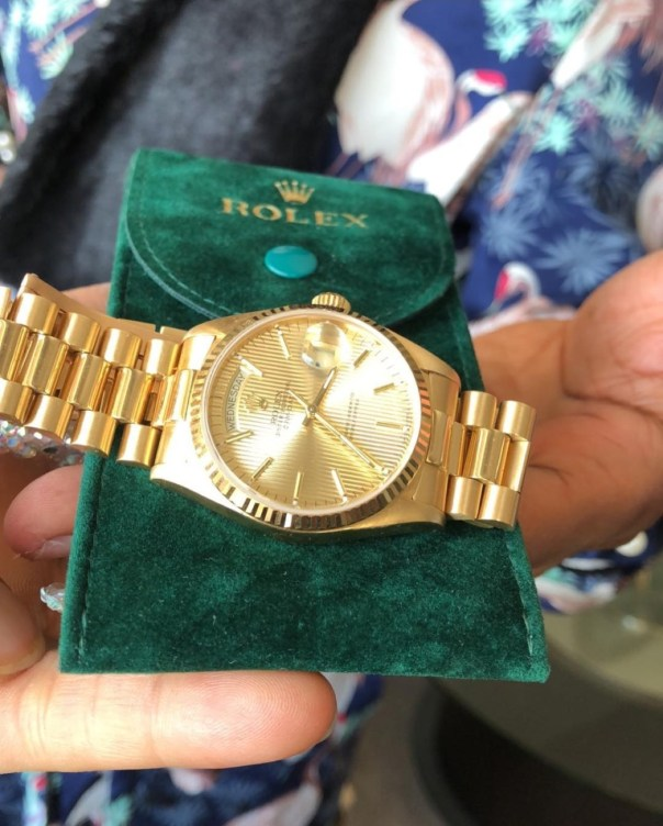 Bobrisky Gets A Rolex As Gift From His Bae (2)