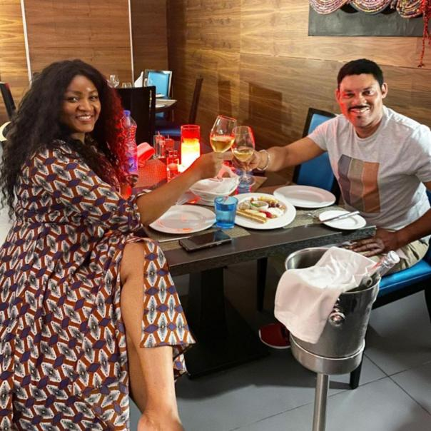 How Omotola Jalade's Husband Reacted Just Because She Sneezed