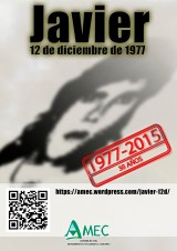 cartel javier38años