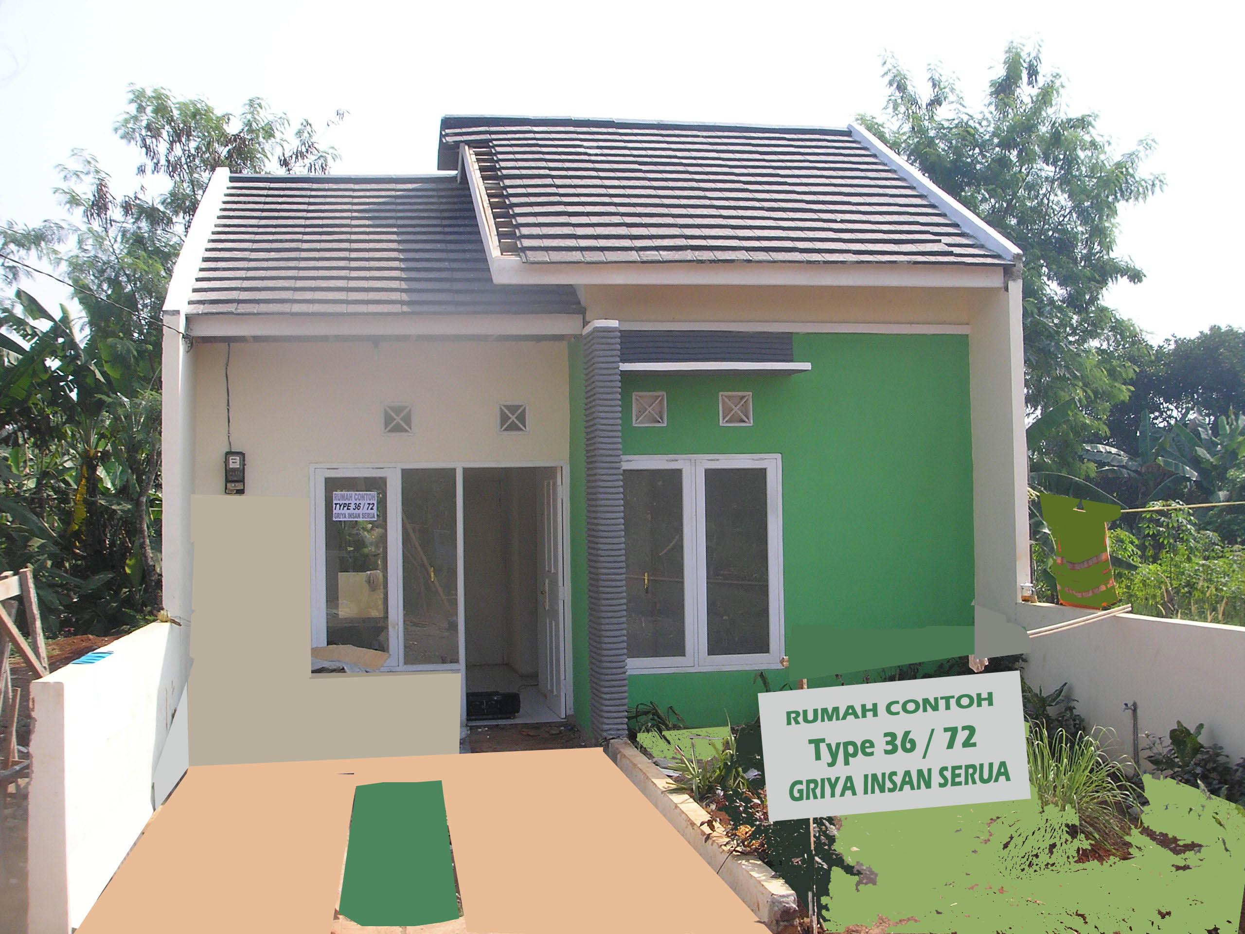 rumah contoh type 36 72