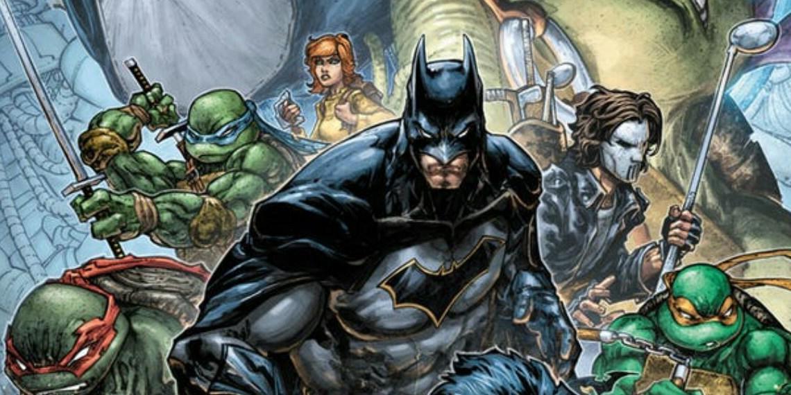 DCとIDWのコラボコミック『バットマン/ティーンエイジ・ミュータント・ニンジャ・タートルズ Ⅱ』を発表!