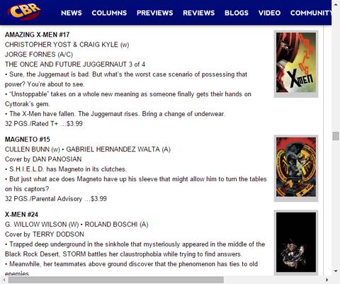 ストームは自身の閉所恐怖症と戦う!X-MEN #24のプレビュー!