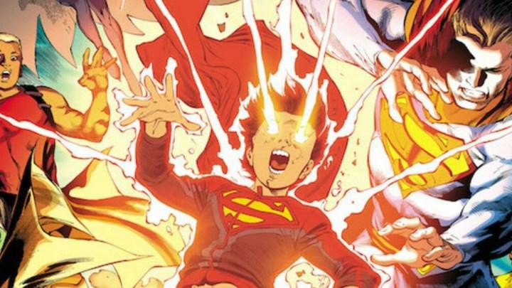 スーパーサンズ/ティーン・タイタンズ/スーパーマンによるクロスオーバー『スーパーサンズ・オブ・トゥモロー』が発表!