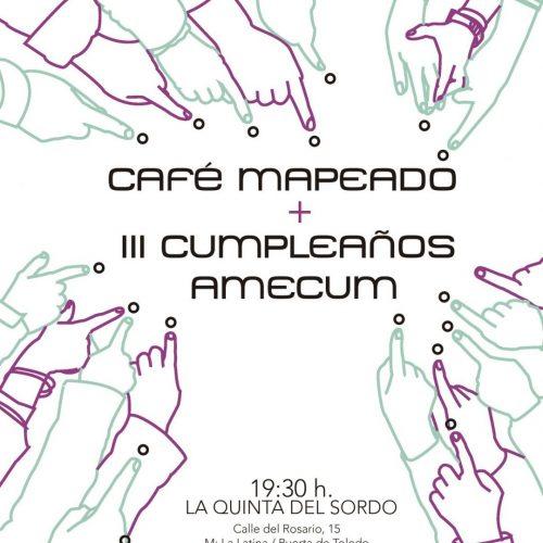 Café Mediación · Mapeado + III Cumpleaños