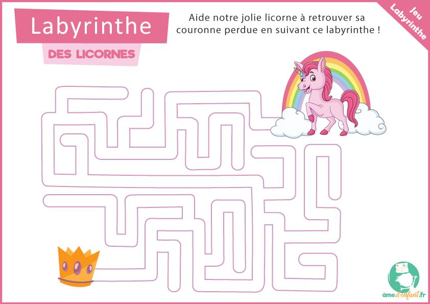 le labyrinthe des licornes
