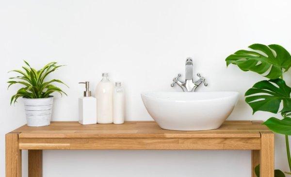 mesa mueble cuarto de baño