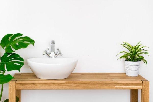 mueble mesa baño moderno