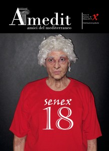 "AMEDIT MAGAZINE, n. 18 – Marzo 2014. Cover ""Senex"" by Iano"