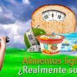 Alimentos light, ¿que tan efectivos son? ¡Descúbrelo aquí!