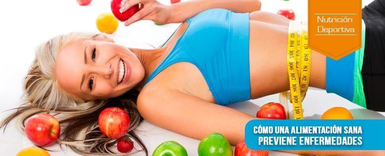 Cómo una alimentación sana previene enfermedades