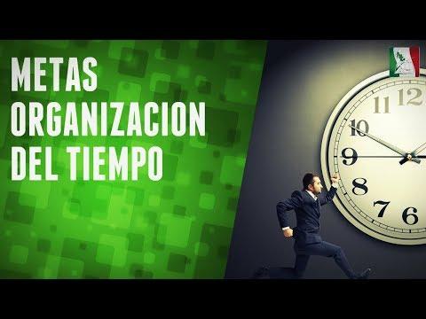 Metas, organización del tiempo