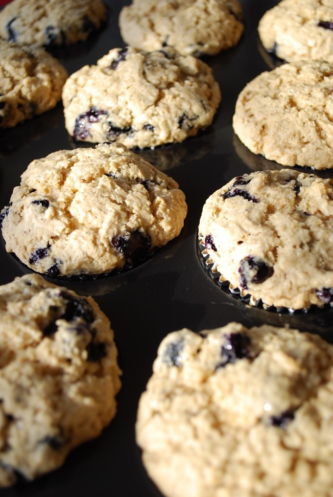 Wheat Free Blueberry Muffins