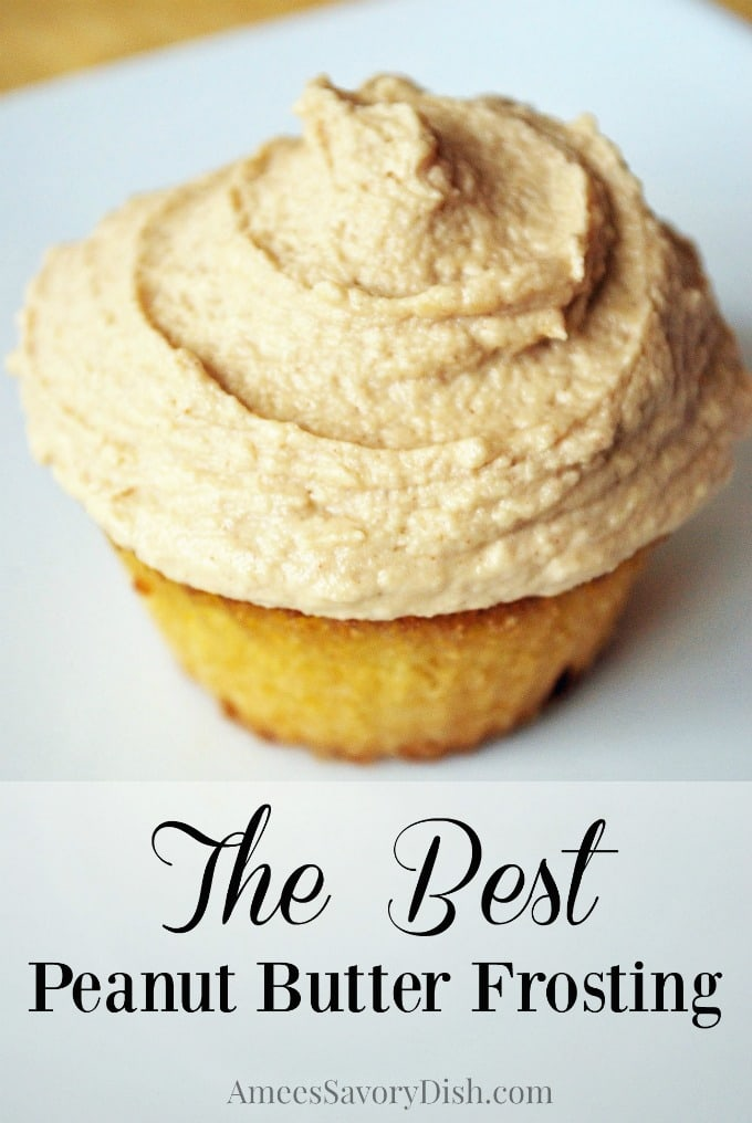 The Best Peanut Butter Frosting Recipe