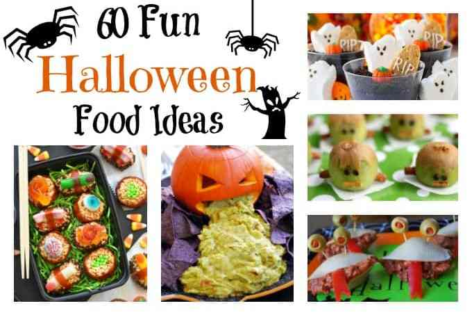 60 Fun Halloween Food Ideas for parties