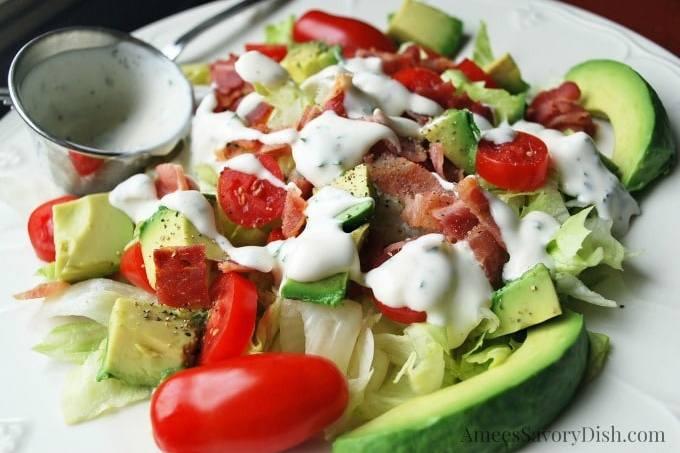 BLT Salad recipe