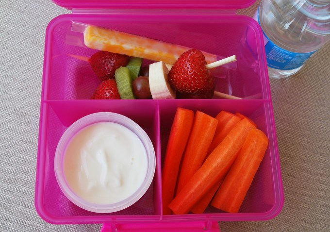 vegetarian kids lunch idea