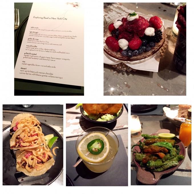 Meal at ABC Cocina