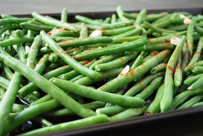 Roasted Green Beans 6