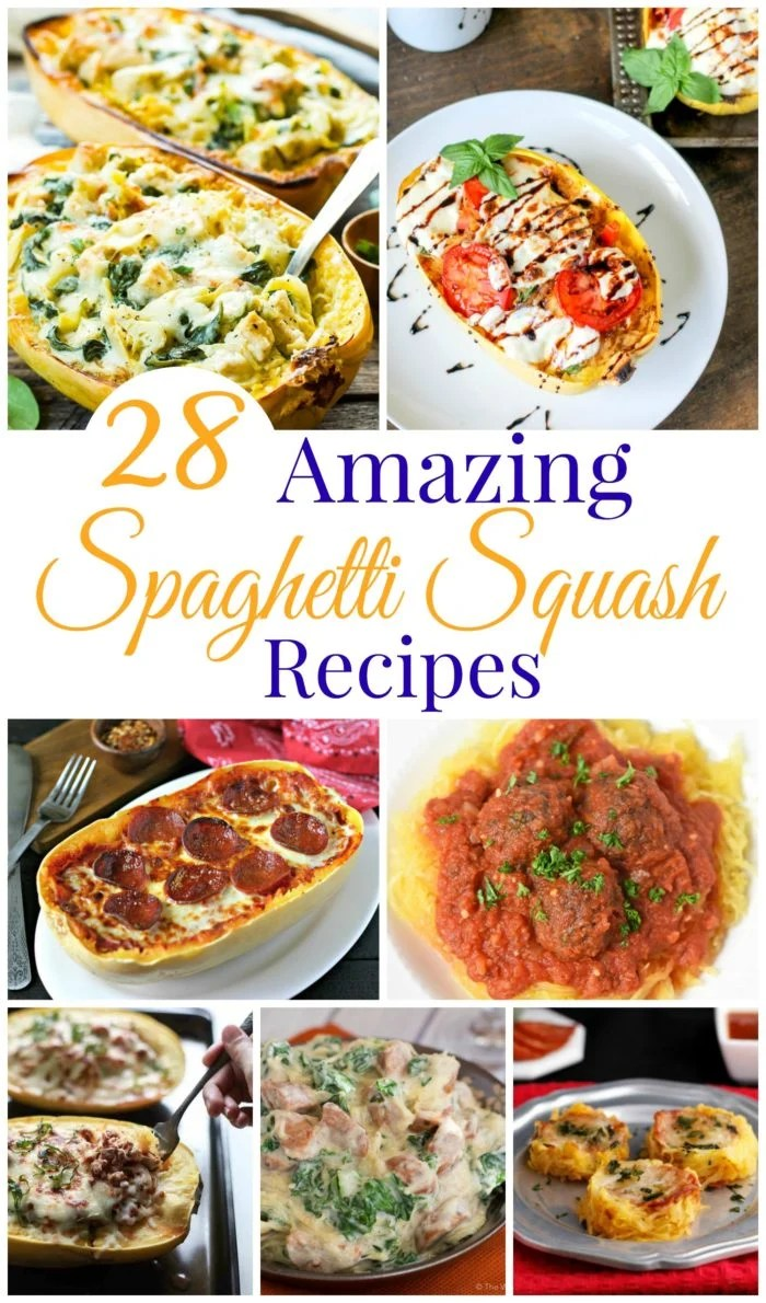 28 Amazing Low Carb Spaghetti Squash Recipes to inspire your next meal!