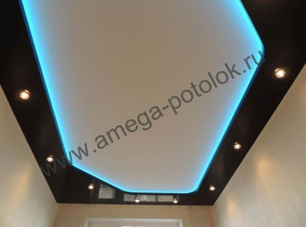 Купить натяжные потолки для квартир в стиле хай-тек (hi ...
