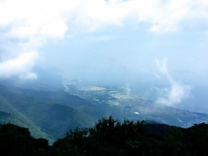 びわ湖テラスから見下ろす琵琶湖