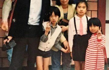 髙田明さん家族