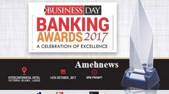Fidelity Bank Soars with two awards At 2017 BusinessDay Banking Awards