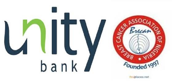 UNITY BANK PARTNERS BRECAN ON BREAST CANCER AWARENESS