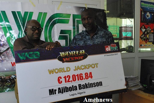 WGB Pays winnings In Euro (Jackpot)