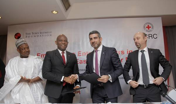 Red Cross, Tony Elumelu Foundation To Empower 200 Entrepreneurs