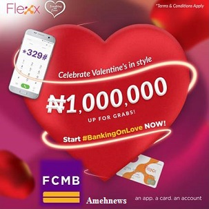 2018Valentine Campaign: FCMB To Rewards 100 Youth With Active Accounts