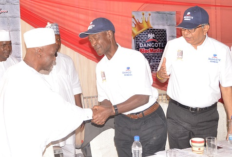 Dangote launches 'BlocMaster' for cement moulders