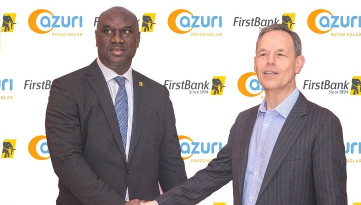 First Bank Partners Azuri to improve energy supply & financial inclusion in  Nigeria