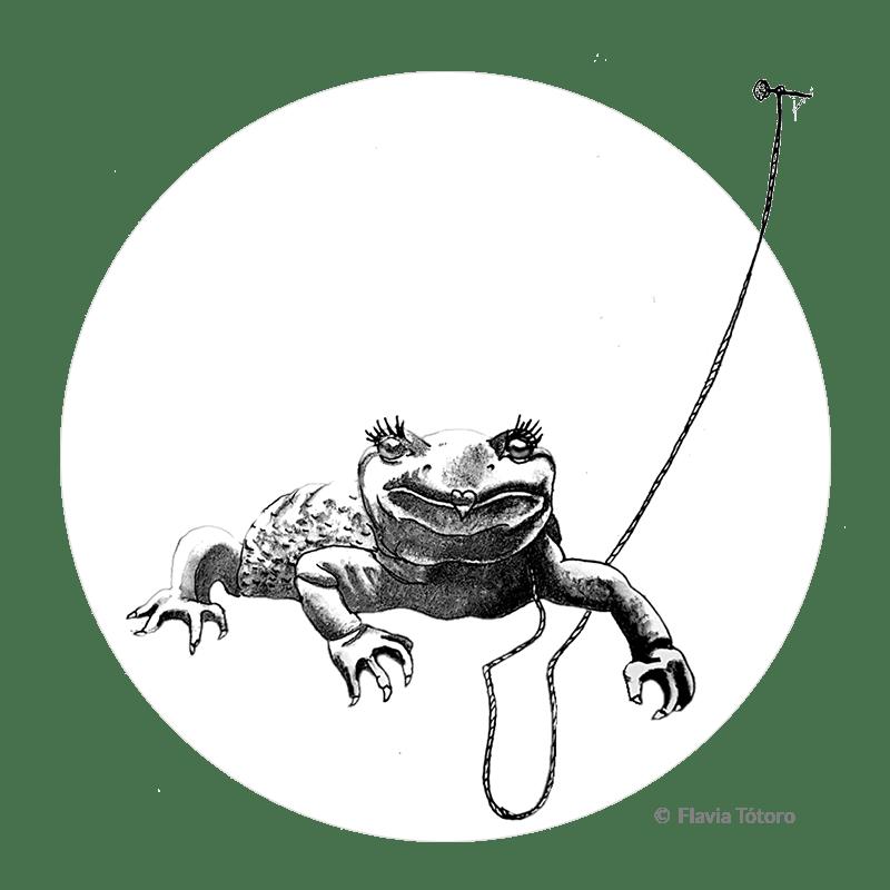 Salamandra de Flavia Tótoro