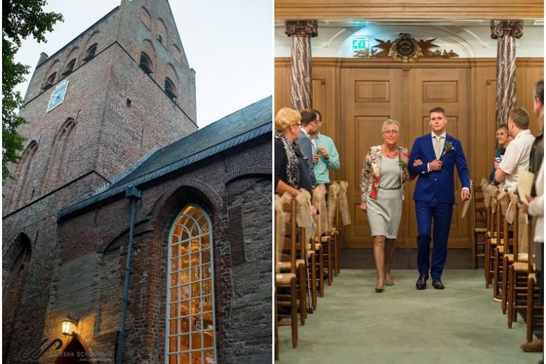 bruiloft Sint Vituskerk in Stiens