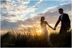Zonsondergang op je bruiloft