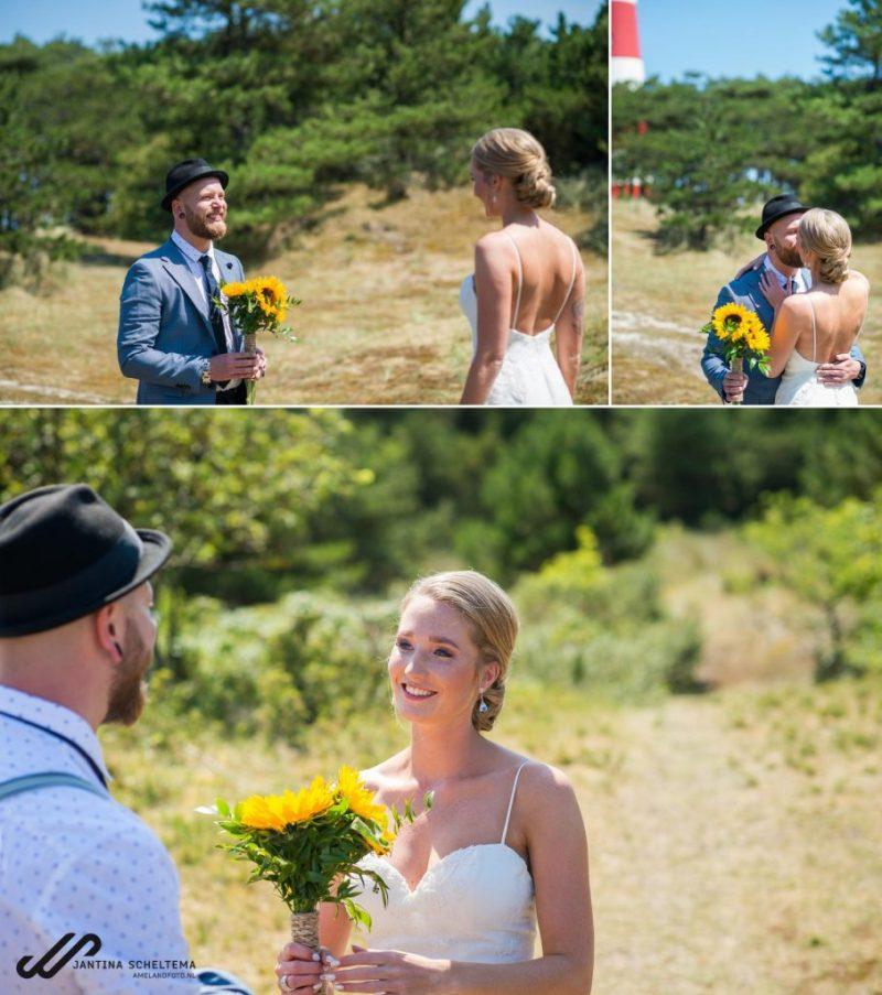 Hippe bruiloft op Ameland