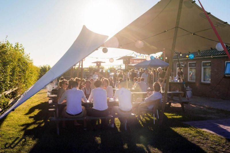 Festival bruiloft Ameland