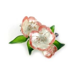 cherry blossom brooch