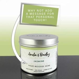 jasmine soy wax candle