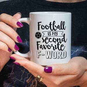 Football Funny Birthday Mug