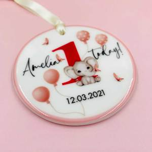Personalised Baby First Birthday