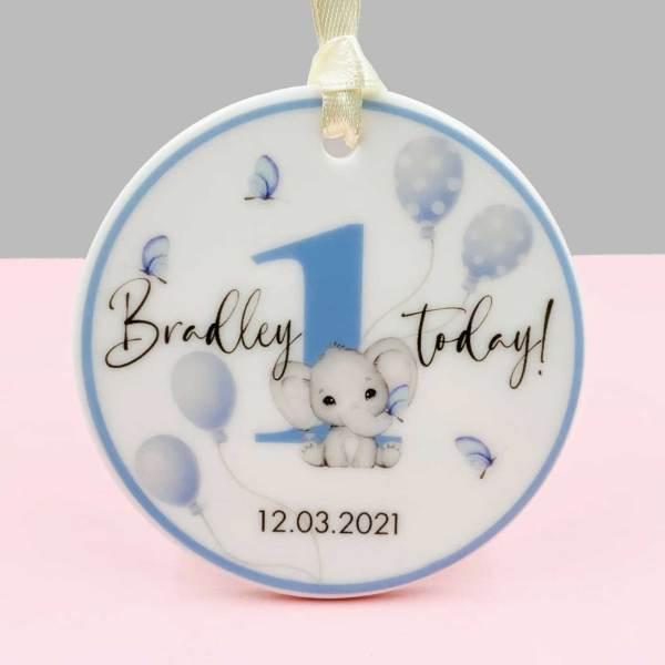 Personalised First Birthday Keepsake