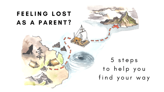 Feeling lost as a parent? 5 steps to help you find your way