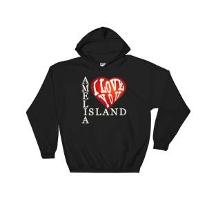 Amelia I Love You Hoodie Black