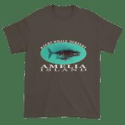 Amelia Island Nursery Ultra Cotton T-Shirt Olive