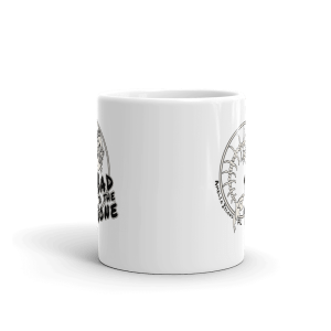 Bad to the Bone Mug Front-view 11oz